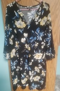 Roz and Ali 1x Floral Dress